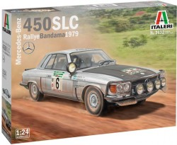 Mercedes-Benz 450SLC Rallye Bandama 1979