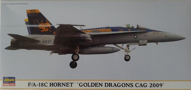 "F/A-18C Hornet ""Golden Dragons CAG 2009"""