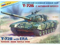 T-72B Soviet Main Battle Tank with Explosive Reactive Armour