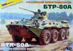 BTR-80A Russian Armoured Troop-Carrier
