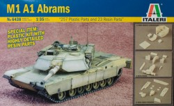 M1A1 Abrams DETAILS KIT with Resin parts